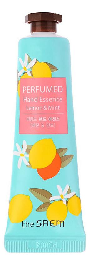 Купить Крем-эссенция для рук Perfumed Hand Essence Lemon & Mint 30мл, Крем-эссенция для рук Perfumed Hand Essence Lemon & Mint 30мл, The Saem