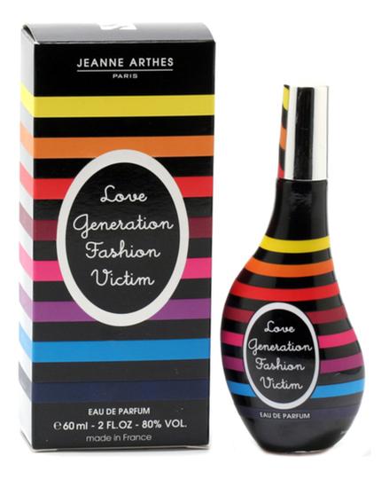 Jeanne Arthes Love Generation Fashion Victim: парфюмерная вода 60мл