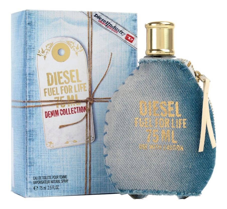 diesel fuel for life spirit by diesel for men 2 5 oz edt spray Fuel for Life Denim Collection Femme: туалетная вода 75мл