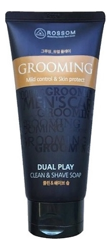 Жидкое мыло для лица Rossom Grooming Dual Play Mild Control & Skin Protect 150мл