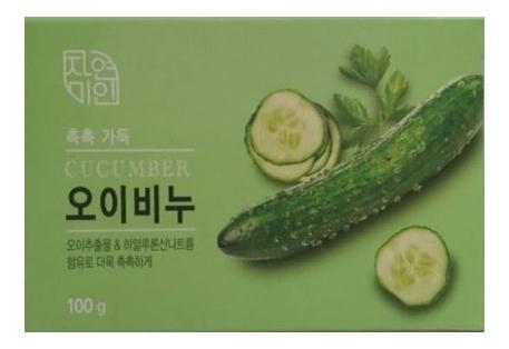 Купить Мыло Moisture Cucumber Soap 100г (огурец), Mukunghwa