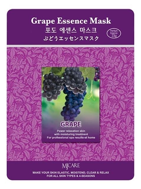 Купить Маска тканевая Виноград MJ Care Grape Essence Mask 23г, Mijin