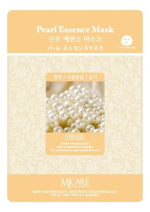 Купить Маска тканевая Жемчуг MJ Care Pearl Essence Mask 23г, Mijin
