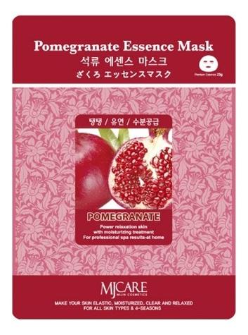Купить Маска тканевая Гранат MJ Care Pomegranate Essence Mask 23г, Mijin