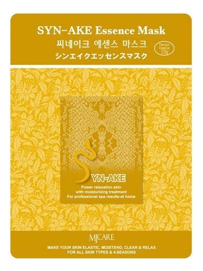 Купить Маска тканевая Змеиный яд MJ Care Syn-Ake Essence Mask 23г, Mijin