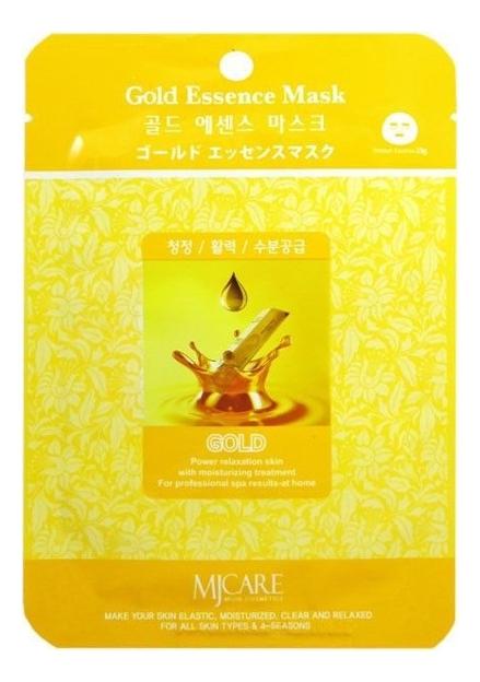 Купить Маска тканевая Золото MJ Care Gold Essence Mask 23г, Mijin