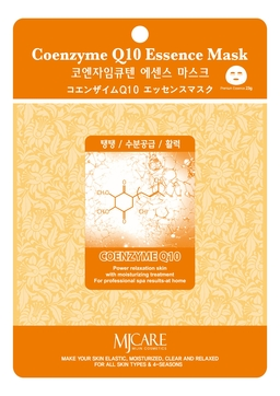 Маска тканевая Коэнзим MJ Care Coenzyme Q10 Essence Mask 23г