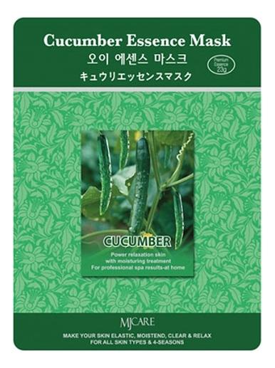 Купить Маска тканевая Огурец MJ Care Cucumber Essence Mask 23г, Mijin