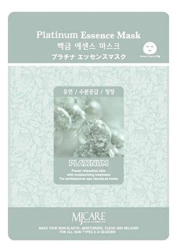 Купить Маска тканевая Платина MJ Care Platinum Essence Mask 23г, Mijin