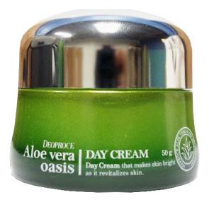 Крем дневной для лица Aloe Vera Oasis Day Cream 50г, Deoproce  - Купить