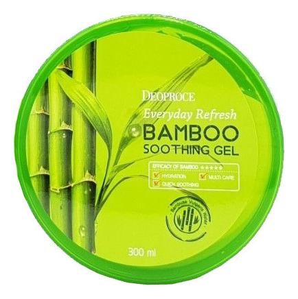 Гель для тела и лица с экстрактом бамбука Everyday Refresh Bamboo Soothing Gel 300мл