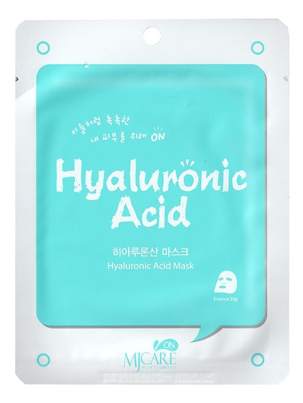 Фото - Маска тканевая с гиалуроновой кислотой MJ Care On Hyaluronic Acid Mask Pack 22г коллагеновая тканевая маска для лица с гиалуроновой кислотой festival 22г
