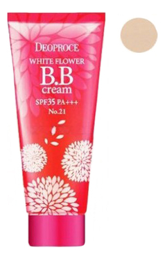 BB крем для лица White Flower Cream SPF35 PA+++ 30г: 21 Natural Beige