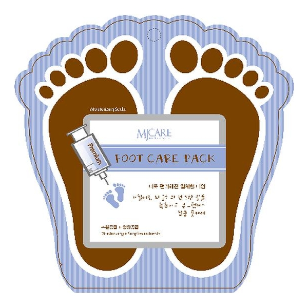 Маска для ног MJ Care Premium Foot Pack 2*10г
