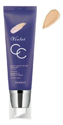 Купить CC крем для лица Violet CC Cream SPF49 PA++ 50г: 13 Light Beige, Deoproce