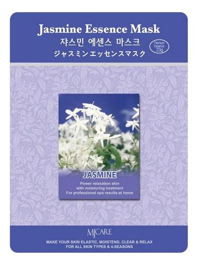 Купить Маска тканевая Жасмин MJ Care Jasmine Essence Mask 23г, Mijin
