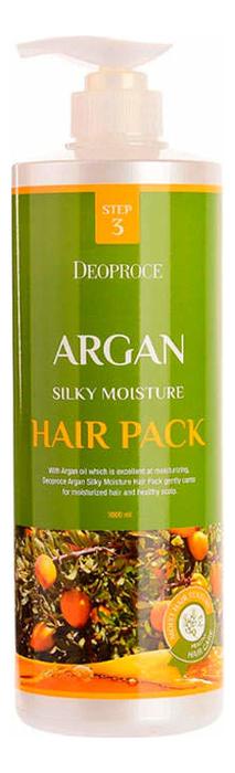 Купить Маска для волос с аргановым маслом Argan Silky Moisture Hair Pack 1000мл, Deoproce