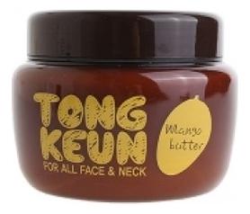 Питательный крем для лица с маслом манго Urban Dollkiss Tongkeun Mango Butter Cream 300мл