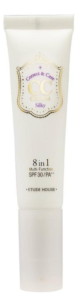 Купить CC крем многофункциональный Correct & Care Cream SPF30 PA++ 35г: 01 Silky, CC крем многофункциональный Correct & Care Cream SPF30 PA++ 35г, Etude House