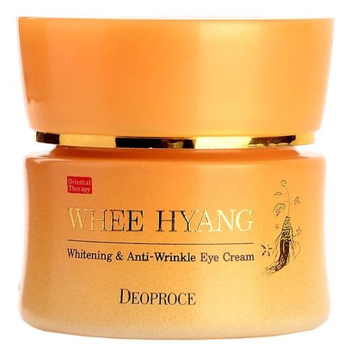 Крем для области вокруг глаз Whee Hyang Whitening & Anti-Wrinkle Eye Cream 30г