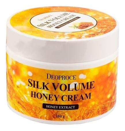 Крем для лица питательный на основе меда Moisture Silk Volume Honey Cream 100г