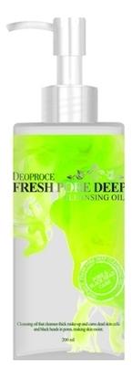 Купить Масло очищающее для лица виноградное Fresh Pore Deep Cleansing Oil 200мл, Deoproce