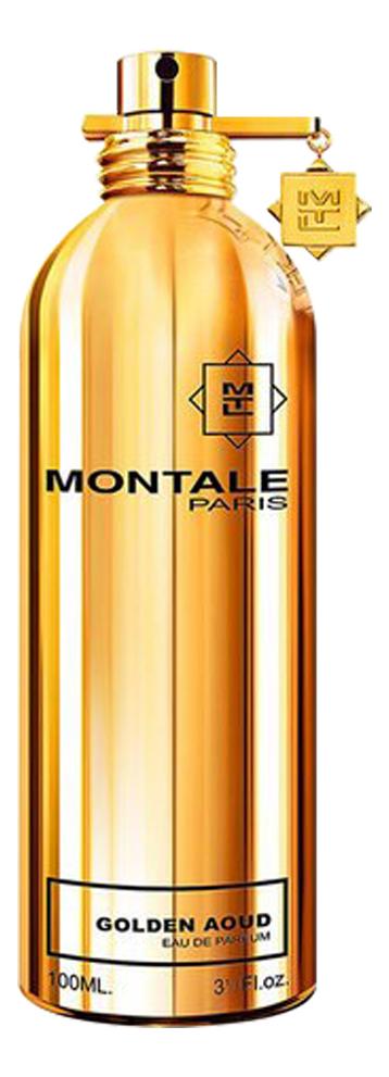 Montale Golden Aoud: парфюмерная вода 100мл тестер парфюмерная вода montale golden aoud 100 мл