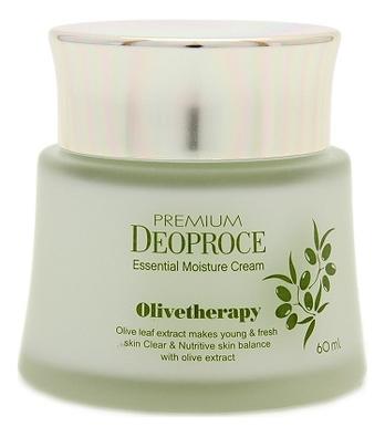 Крем увлажняющий с маслом оливы Premium Essential Moisture Cream Olivetherapy 60мл