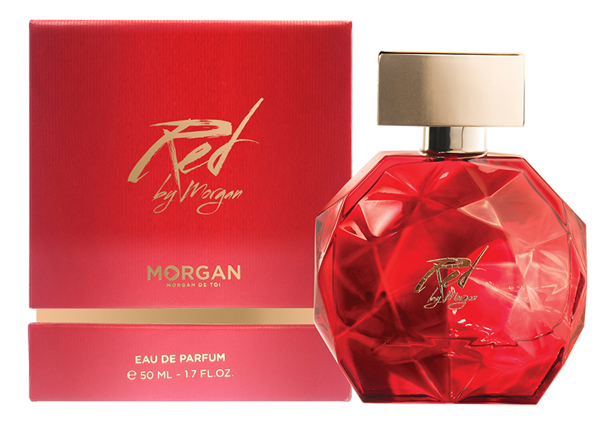 Red By Morgan: парфюмерная вода 50мл