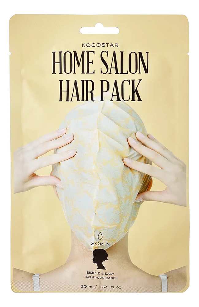Маска для волос восстанавливающая Home Salon Hair Pack 30мл: 30мл