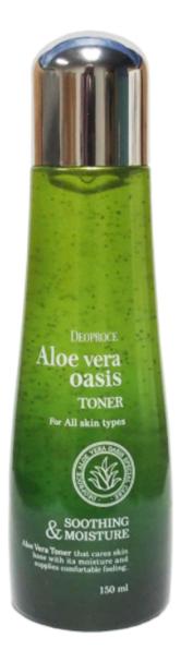 Тонер для лица с экстрактом алоэ вера Aloe Vera Oasis Toner 150мл горячий воск для депиляции с экстрактом алоэ вера aloe vera 100г