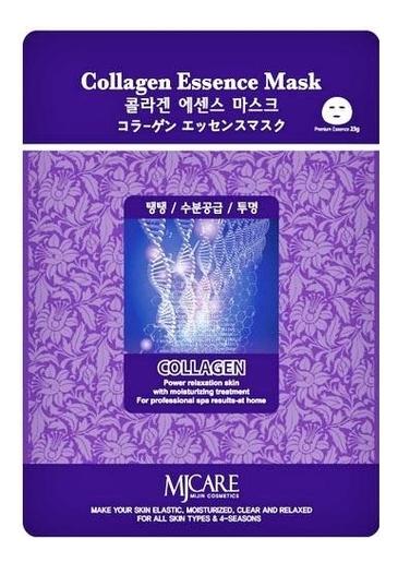 Купить Маска тканевая Коллаген MJ Care Collagen Essence Mask 23г, Mijin