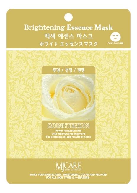 Купить Маска тканевая осветляющая MJ Care Brightening Essence Mask 23г, Mijin