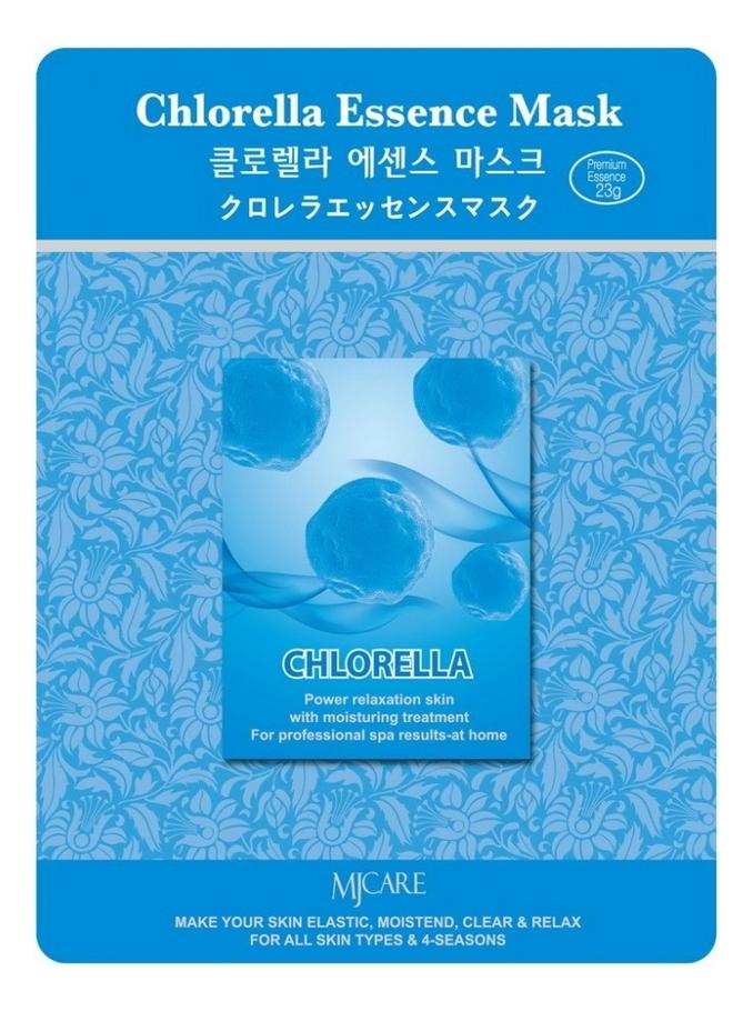 Купить Маска тканевая Хлорелла MJ Care Chlorella Essence Mask 23г, Mijin