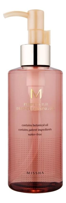 Купить Масло гидрофильное очищающее M Perfect BB Deep Cleansing Oil 200мл, Missha