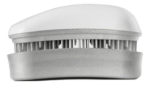 Расческа для волос Hair Brush Mini White-Silver (белая-серебро)