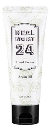 Крем для рук с аргановым маслом Real Moist 24 Argan Oil Hand Cream 70мл chi luxury black seed oil curl defining cream gel