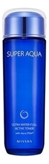 Тонер для лица увлажняющий Super Aqua Ultra Water-Full Active Toner 150мл