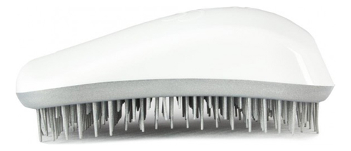 Расческа для волос Hair Brush Original White-Silver (белая-серебро)