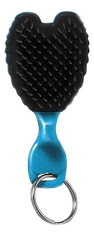 Расческа-брелок для волос Baby Totally Turquoise