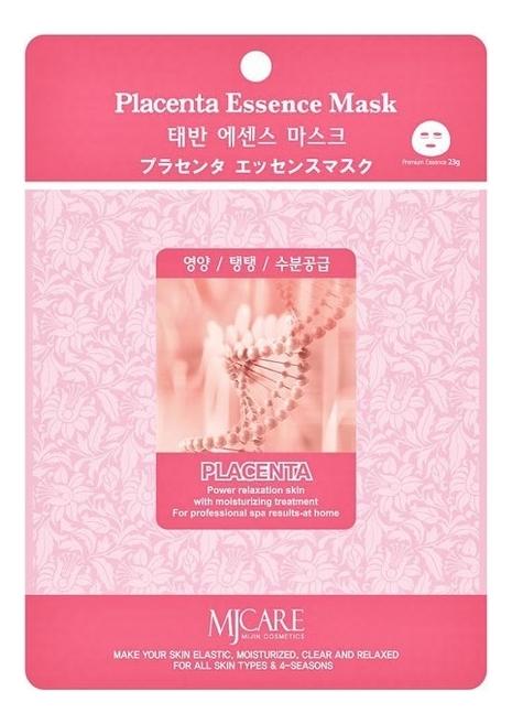 Купить Маска тканевая Плацента MJ Care Placenta Essence Mask 23г, Mijin