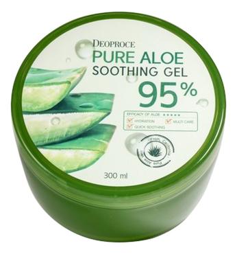 Фото - Гель для тела с экстрактом алоэ Pure Aloe Soothing Gel 95% 300мл гель маникюр для волос haken premium pearll pure gel color crystal clear 220 г