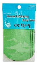 Sung Bo Cleamy Мочалка-варежка для душа Viscose Exfoliating Body Towel 12см*17см