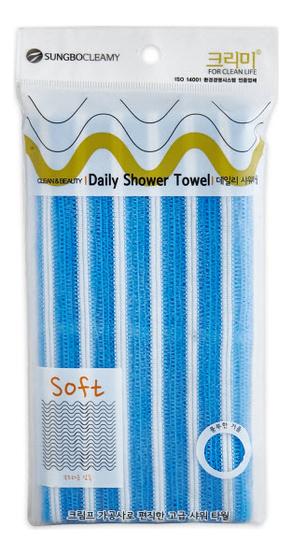 Мочалка для душа Daily Shower Towel 28*90см (цвет в ассортименте)