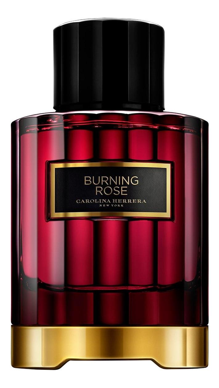 Carolina Herrera Burning Rose : парфюмерная вода 100мл тестер