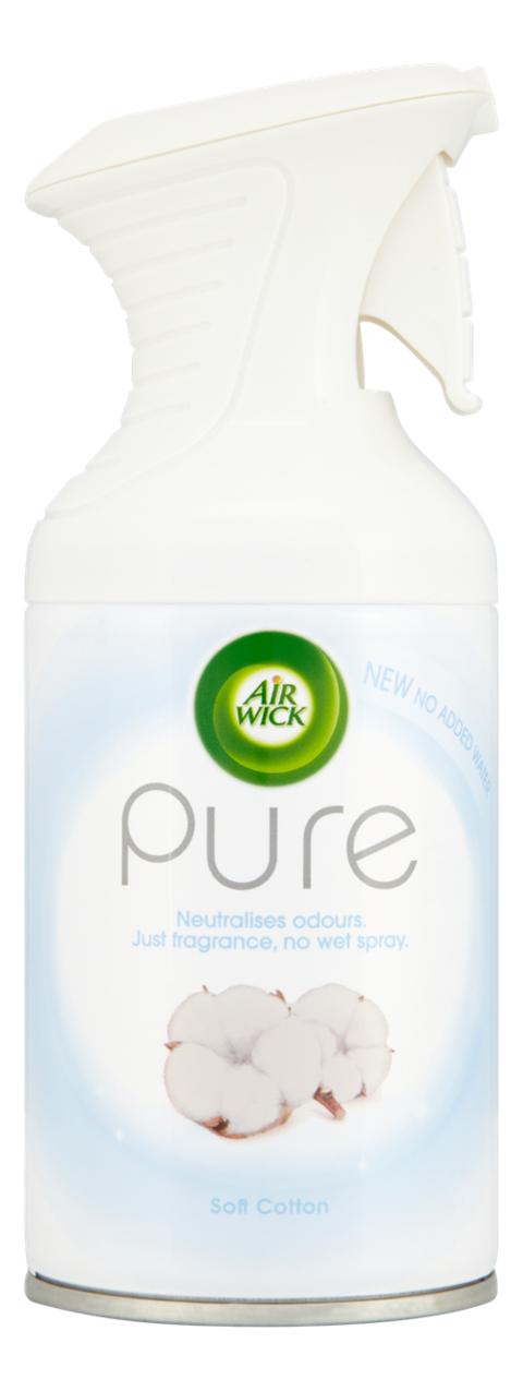 Освежитель воздуха Природная свежесть Pure Aerosol Soft Cotton 250мл