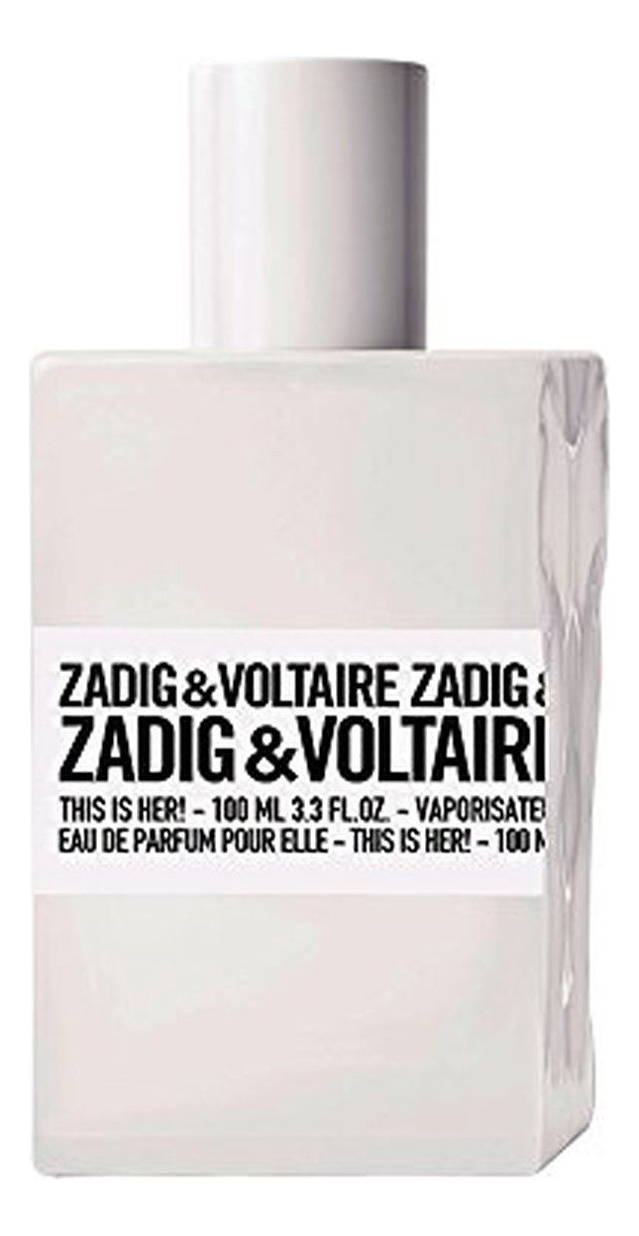 Zadig & Voltaire This is Her: парфюмерная вода 100мл тестер