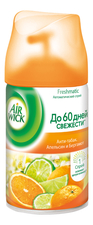 Air Wick Сменный баллон Анти-табак Апельсин и бергамот Freshmatic Refill Anti-Tobacco Orange & Bergamot 250мл