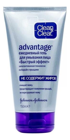 Купить Гель для умывания для кожи склонной к появлению прыщей Advantage 150мл, Clean & Clear