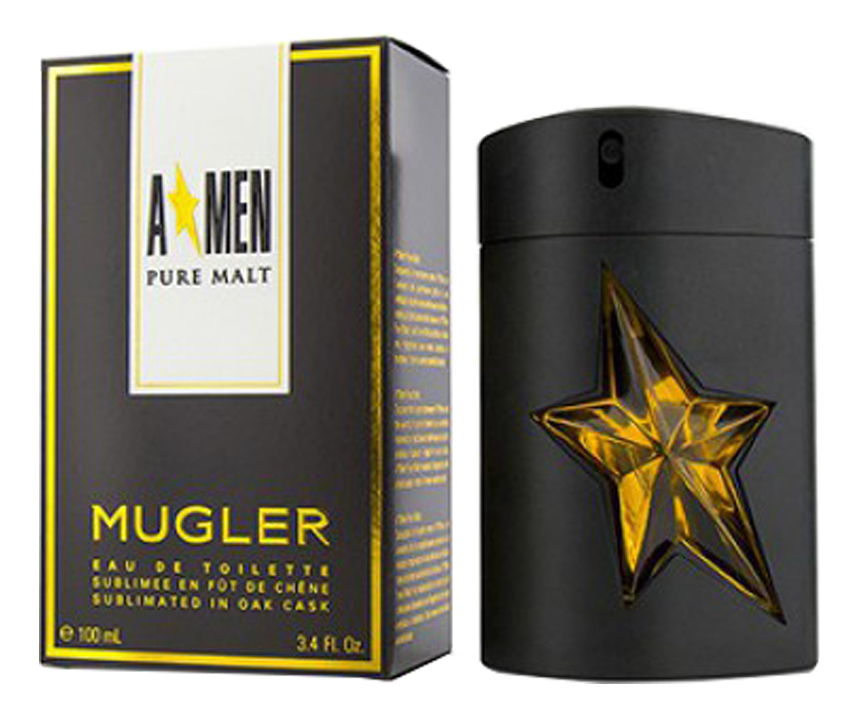 Mugler A'Men Pure Malt: туалетная вода 100мл mugler a men pure havane туалетная вода спрей 100 мл